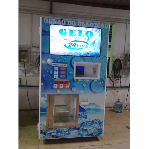 Sealed Bag Ice Vending Machine
