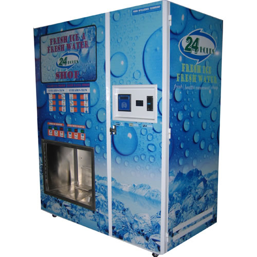 Water and Ice Vending Machine